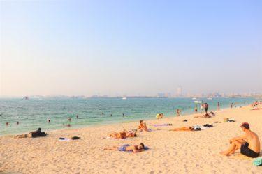 ドバイのビーチはまるでハワイ?「JBRビーチ」と「ザ・ビーチ」をご紹介。ラクダにも乗れちゃう超おすすめスポット!