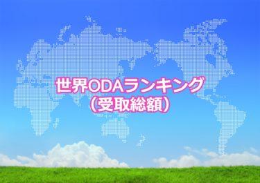 【世界ODA受取額ランキング】世界でODAの受取総額が多い国トップ10!