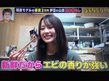 【ボンビーガール】週末移住ガールの「ちなつさん」が新宿から5時間の伊豆の山奥で田舎暮らし。やらせ疑惑で大炎上?